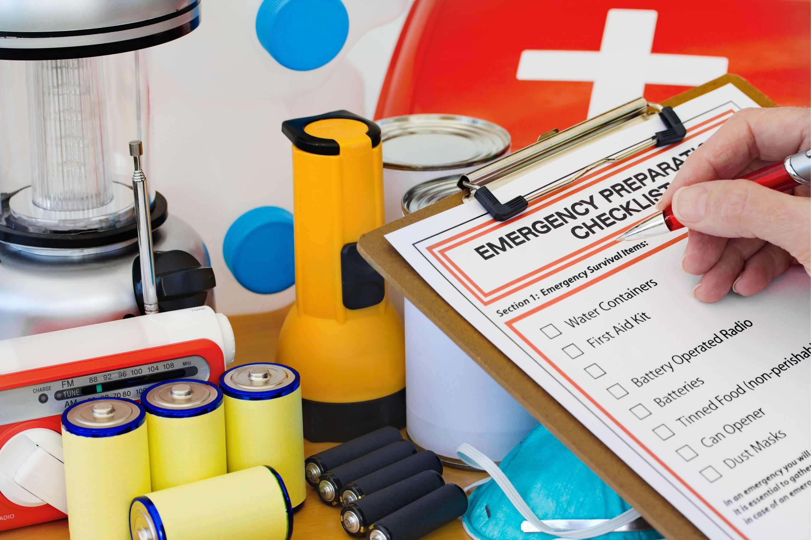 Emergency Preparedness Checklist Photo Flashlight