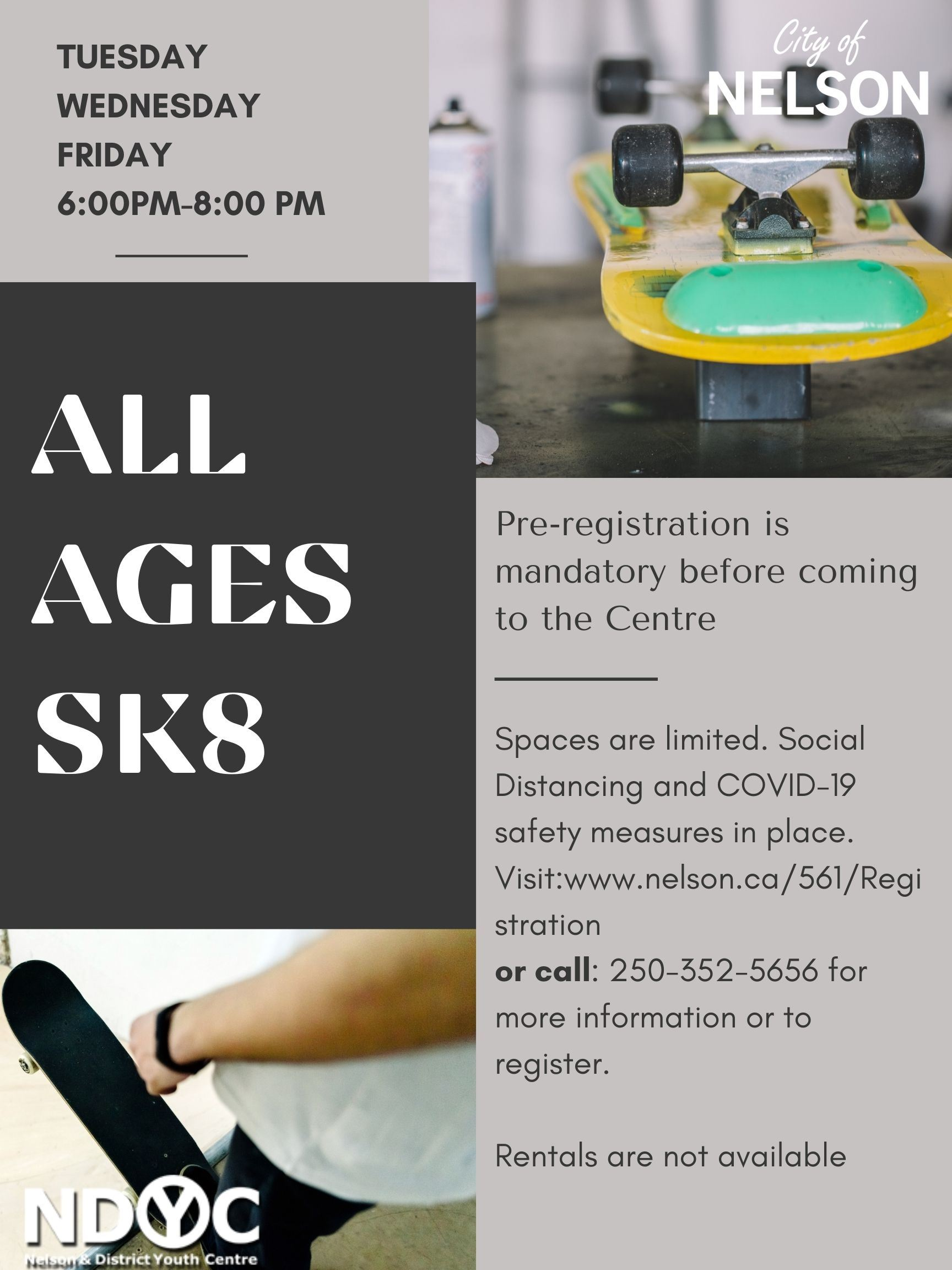 All ages sk8
